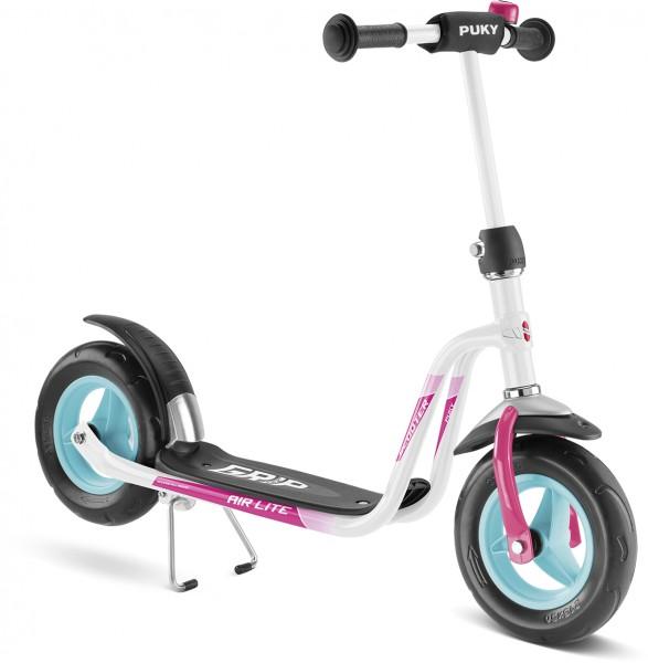 Puky Scooter R03 weiß pink 5342 ab 3 Jahre Kinderroller Roller Tretroller