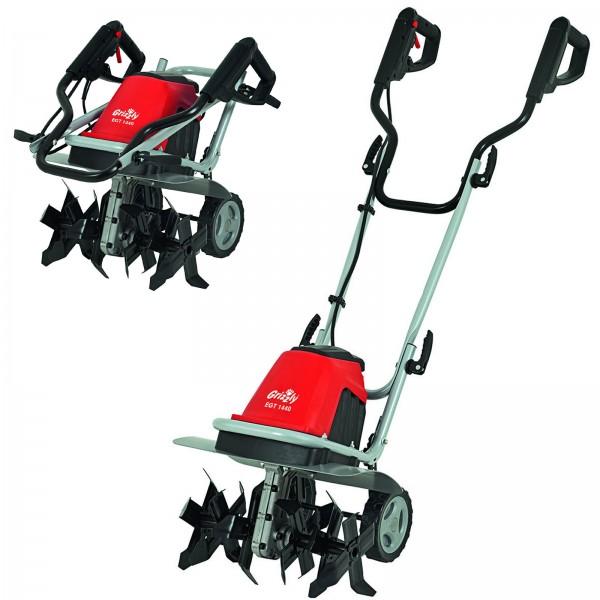 Grizzly Elektro-Gartenhacke EGT 1440 1400 Watt 76005813 Bodenhacke Bodenfräse