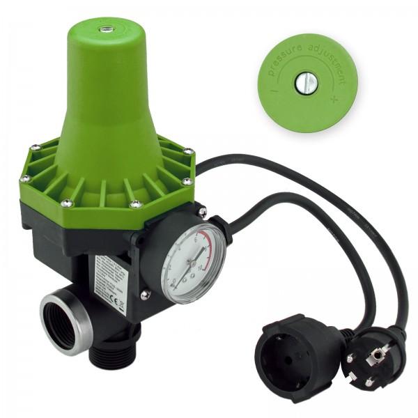 Pumpenschalter Druckschalter Pumpensteuerung 10 bar für Gartenpumpen Hauswasserwerk einstellbar