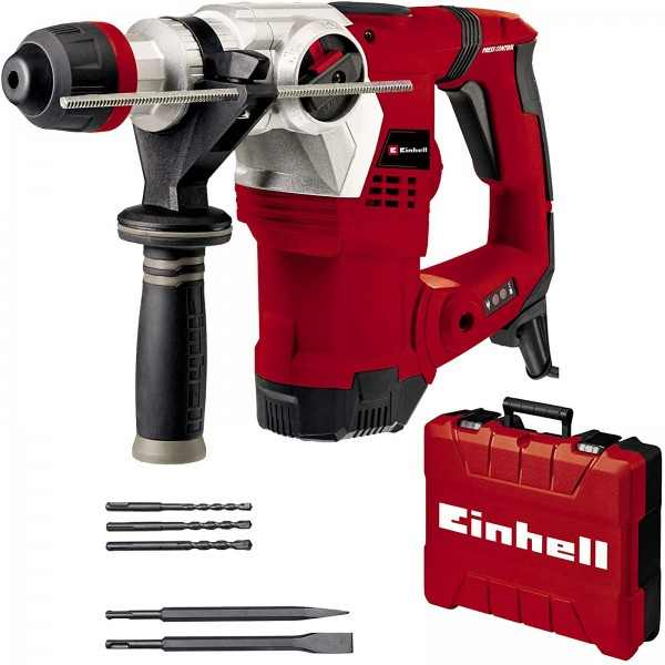 Einhell Bohrhammer TE-RH 32 4F Kit 1250 W, 5.0 Joule, 32 mm Bohrleistung SDS