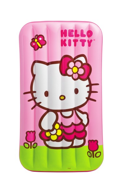 Intex Hello Kitty Kinderluftbett 88x157x18cm Kinder Luftbett Luft Bett 48775NP