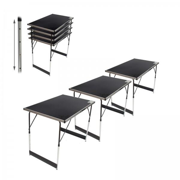 Multifunktionstisch Flohmarkttisch 3er Set Markttisch Klapptisch Tapeziertisch Arbeitstisch Beistell