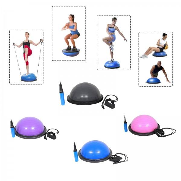 Yoga Gymnastik Balance Half Ball Trainingsball verschiedene Farben