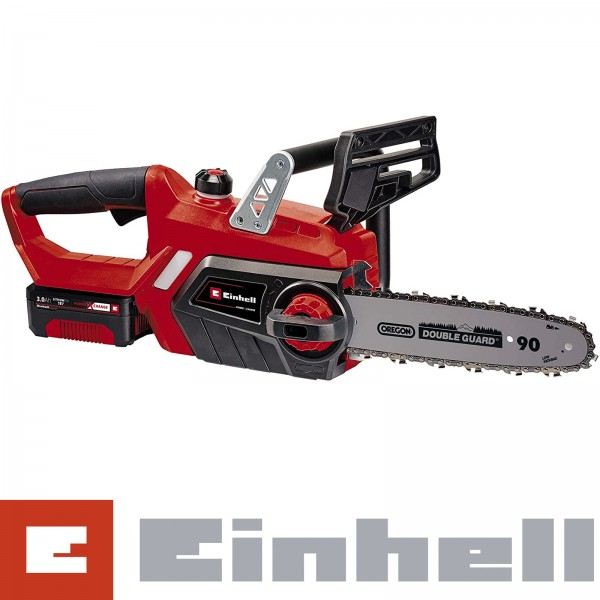 Einhell Power X-Change Akku-Kettensäge GE-LC 18 Li Kit inkl. Ladegerät und 3.0Ah Akku