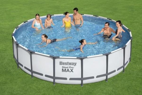 Bestway Steel Pro Max™ Frame Pool Komplett Set 549x122cm 56462