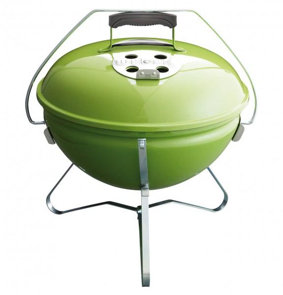 Weber Smokey Joe Premium Holzkohlegrill Spring Green Holzkohle Grill 1127704