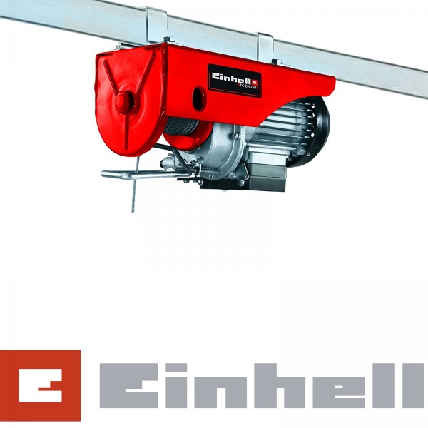 Einhell TC-EH 250 Seilhebezug 12 m Seil - 250kg