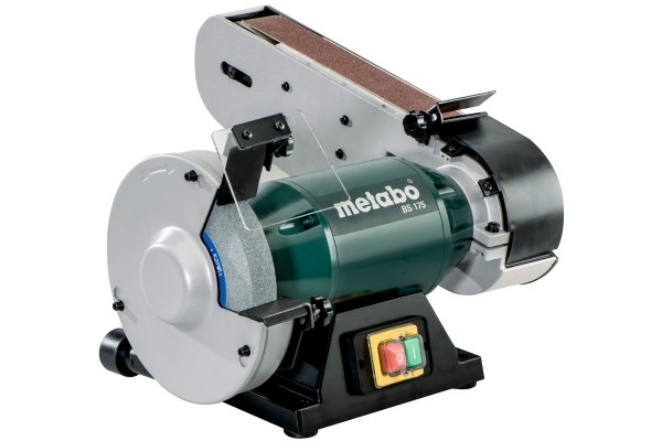 Metabo Kombi Bandschleifmaschine BS 175 Doppelschleifer 601750000
