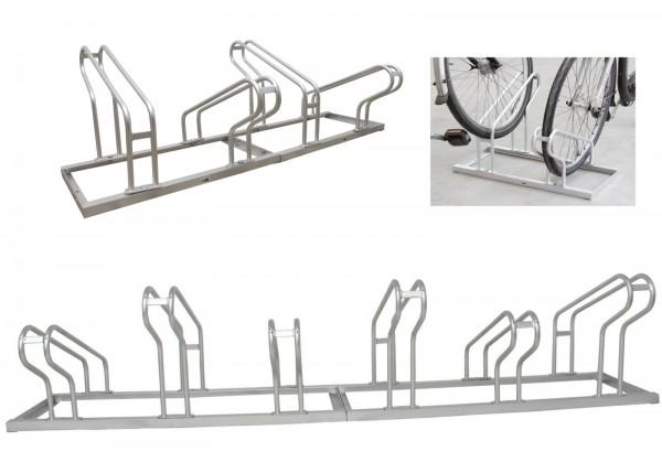 Fahrradständer 2x2=4 Fahrräder oder 2x3=6 Fahrräder Bügelständer