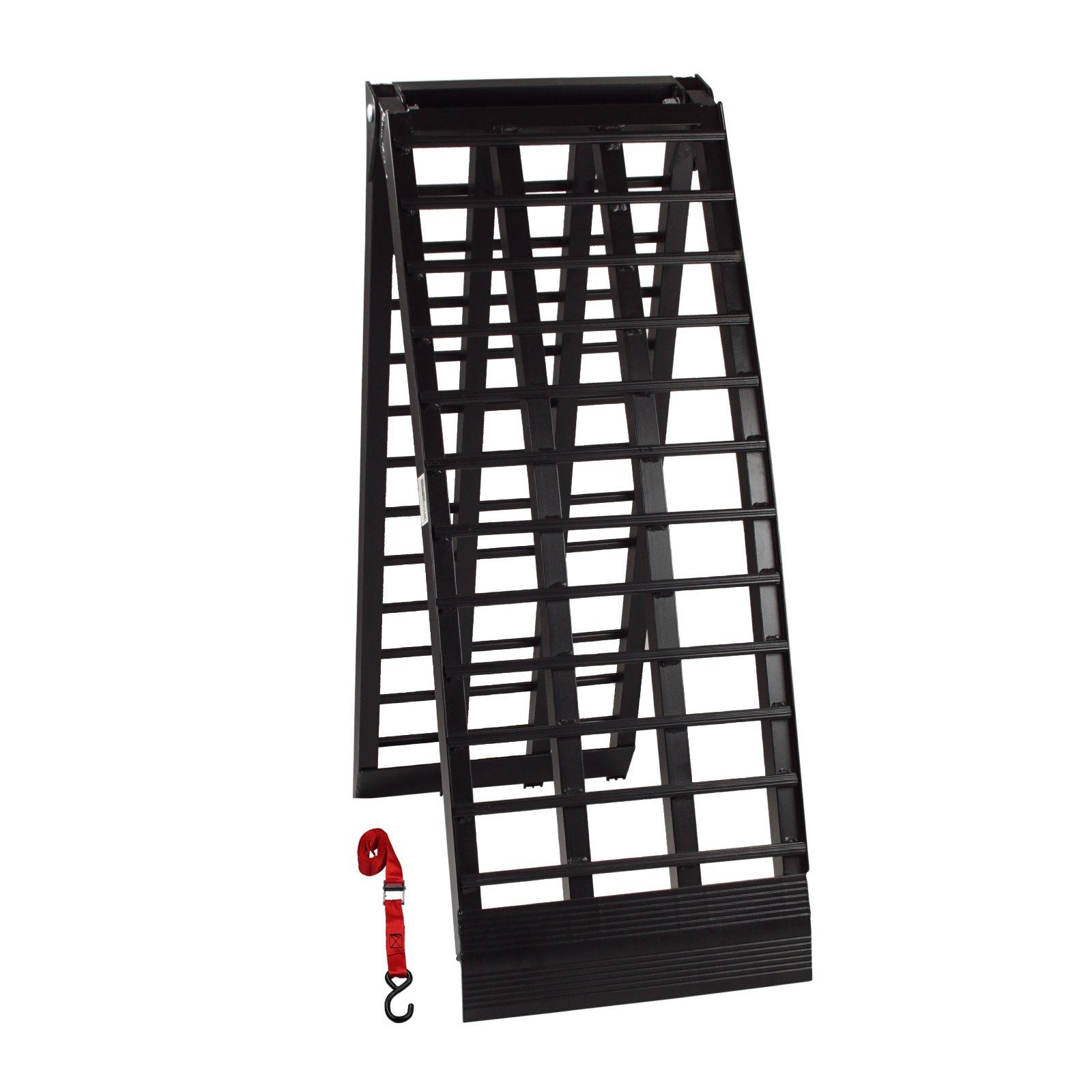 alu auffahrrampe rampe heavy duty 680 kg klappbar. Black Bedroom Furniture Sets. Home Design Ideas