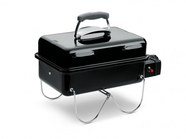 Weber Go-Anywhere Gas Grill schwarz Grill Gasgrill Barbecue 1141079