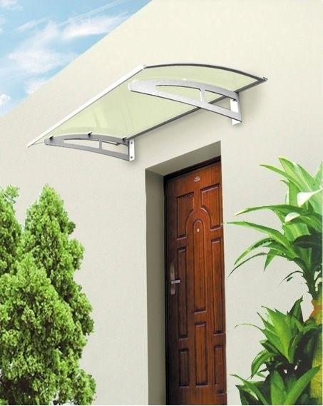 Aluminium Vordach diverse Größen Türdach Haustür Dach Pultvordach Haustürdach