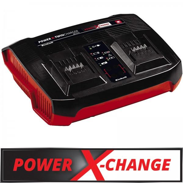 Einhell Ladegerät Power-X-Twincharger 3 A Parallelladung 2x 18 V-Akkus