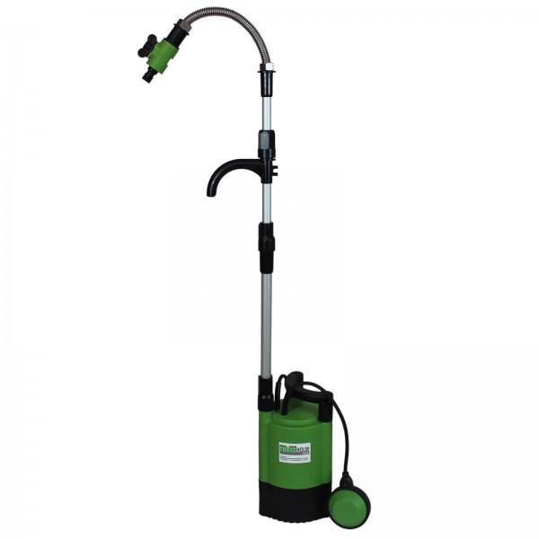 TrutzHolm® Regenfasspumpe 400W, Förderhöhe 11m, 5200 l/h Pumpe, Schwimmerschalter Tauchpumpe