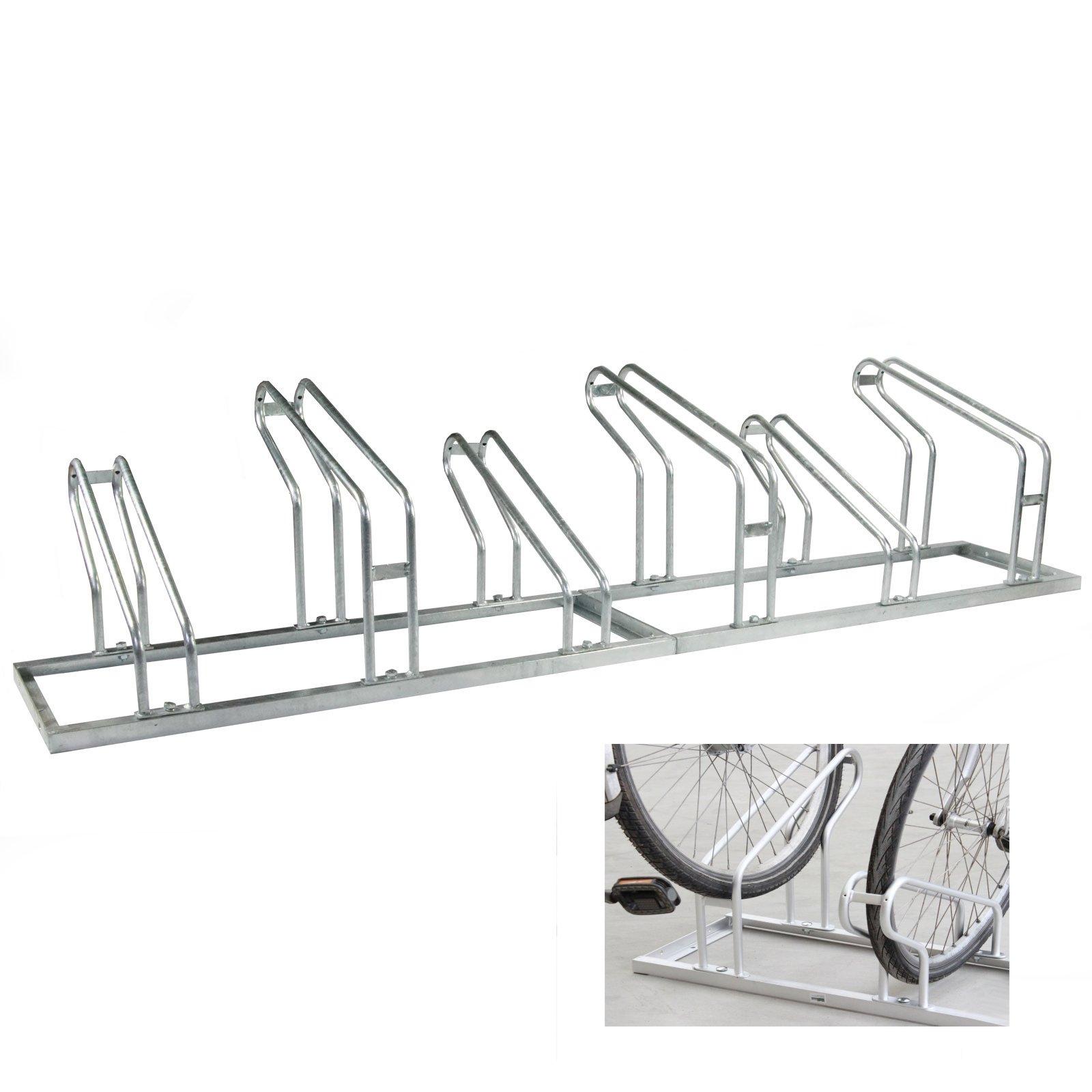 Fahrradständer 2x3=6 Fahrräder verzinkt Fahrrad Ständer ...