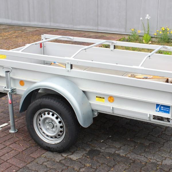 3x Alu-Bügel XL für Anhänger Flach-Planen verstellbar 1300 - 2100mm Planenstütze