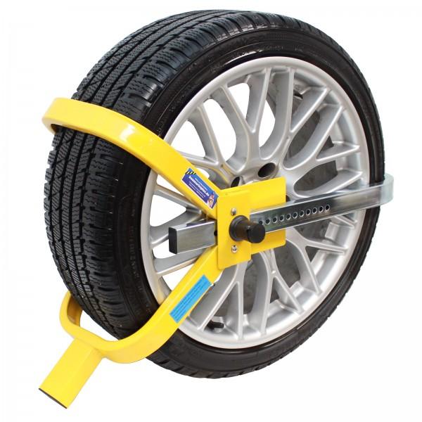 Parkkralle Radkralle Reifenkralle Diebstahlsicherung Wegfahrsperre PKW