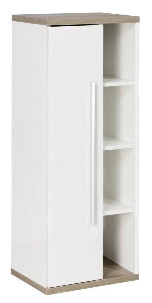 Fackelmann Stanford Badschrank Wandschrank 42 x 106 x 32 cm links Weiß