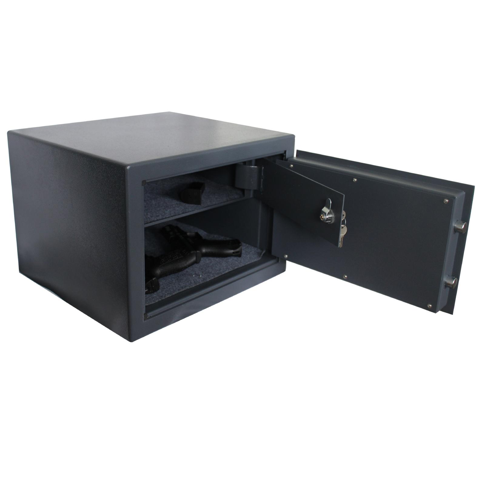 kurzwaffenschrank 420x380x300mm sicherheitsstufe b vdma 24992 tresor ebay. Black Bedroom Furniture Sets. Home Design Ideas