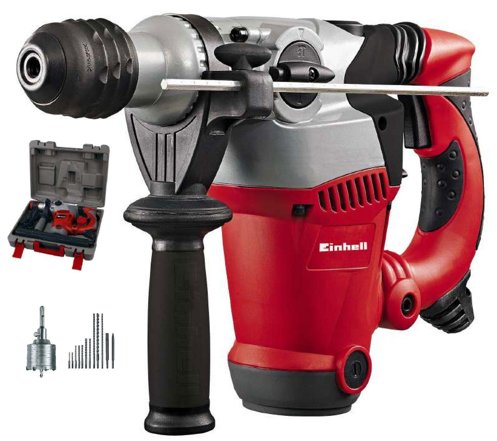 einhell bohrhammer kit rt-rh 32 1250 watt bohrhammerset meißel