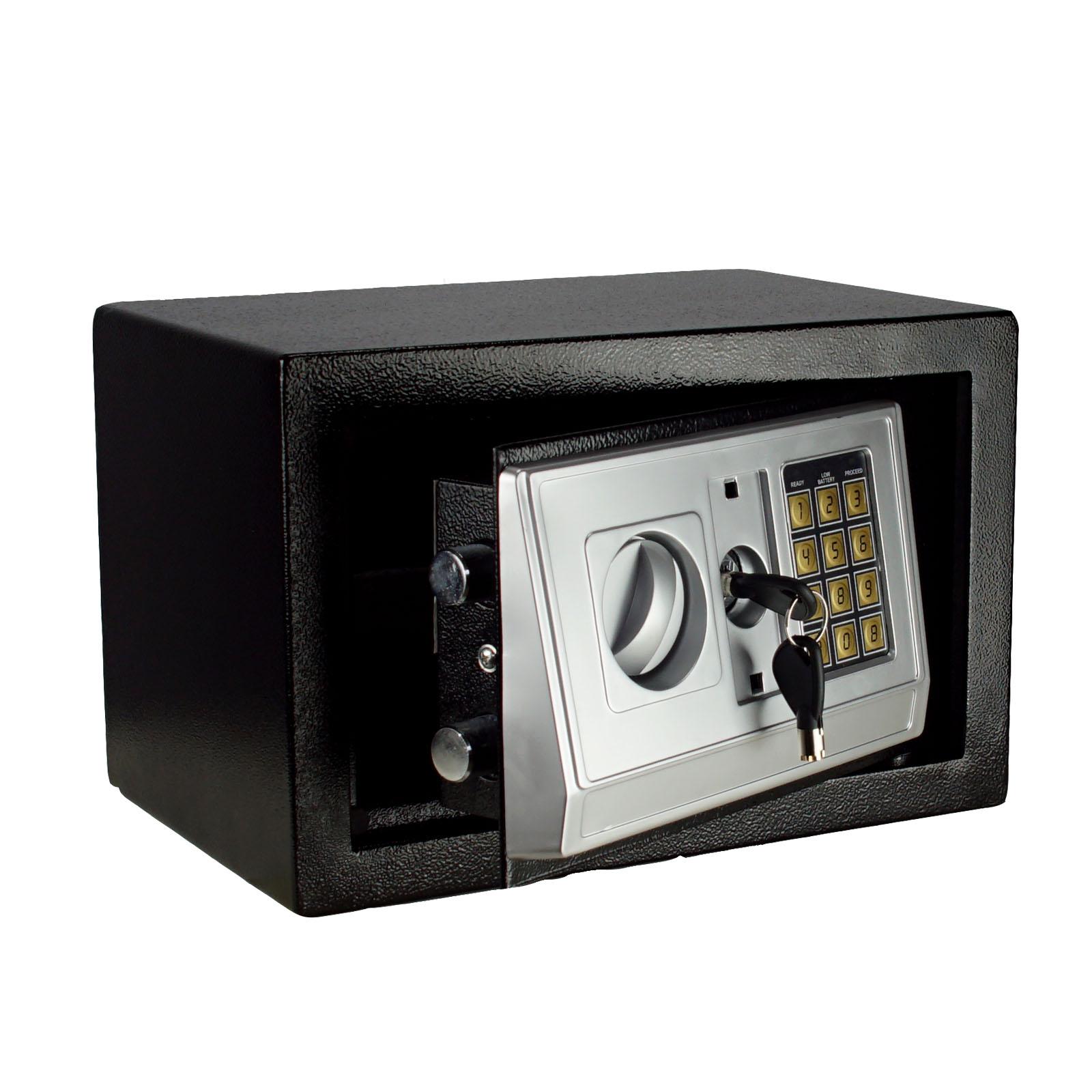 m beltresor digital schl ssel 310x200x200 mm safe tresor wandtresor wandsafe 4260211552040 ebay. Black Bedroom Furniture Sets. Home Design Ideas